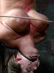 Things are heating up fast for Trina Michaels. She is all caged up but the members