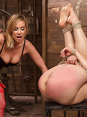 Sex columnist and Souxsie Q is dominated fisted and anally strap-on fucked by Maitresse