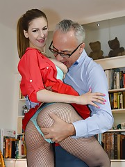 Stella Cox is very very horny. Jim knows what he has to do!