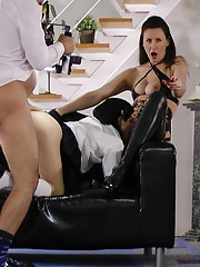 Lara and Lina sure know how to have fun with Jims cock