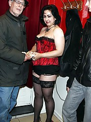 This hooker milf teaches Swedish Sven a couple of lessons