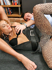 This hot sex party get crazy when golden showers are given