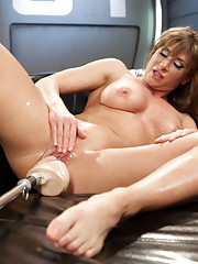 Pussy fucking ass fucking and double penetration makes Ariel have massive squirting