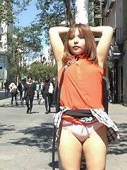 Mitsuki Sweet is back on Public Disgrace and ready to serve Steve Holmes and the
