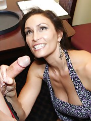 Sultry over 40 mother of two Raven LeChance is bored with her hubby and sex life