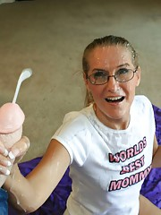 Milf Sara James comes over to clean Jimmys rooms once a week. She noticed large stains