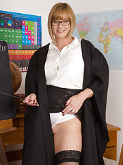 Horny Professor April teaches you a lesson youll never forget...or else