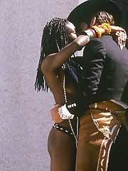 Vintage ebony porn portrayed by some cock loving with cute Brenda