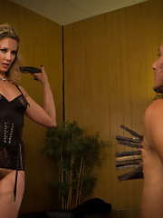 Maitresse Madeline Marlowe financially dominates pay piggy 69s him then denying him