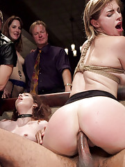 4 Slutty Anal Slaves fuck their way through our raunchiest kinkiest orgy of the year.