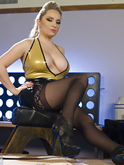 Aiden Star puts a new submissive through heavy corporal bondage CBT and chastity.