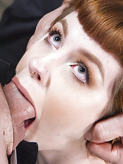 Novice slave girl Barbary Rose learns a hard lesson in servitude the dick comes first!