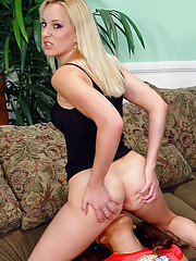 Blonde and Asian lesbians try a black dick