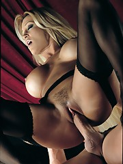 Jill Kelly Dancing in Stockings with the Bomb Gets a Facial
