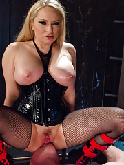 Juicy stud gets oiled p and ass fucked then used as a human dildo by Goddess Aiden