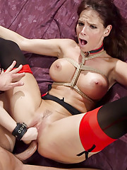 Slutty Step Mother trains sons innocent new bride in the ways of sexual submission