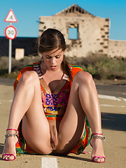 Caprice proves she can seduce anyone anywhere anytime with a rocking hot body and