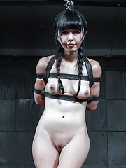 Marica Hase is a pretty young thing a hot Asian moaner that we love seeing in metal
