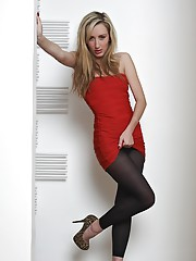 Looking so good for a night out can be a mistake as Sophia found out. Those black