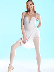 Annett A shows you the graceful and agile movements of a lovely ballerina Russian