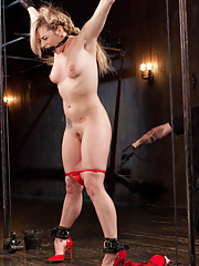 Dahlia is The Popes masochistic little plaything that gets abused and fucked in strict