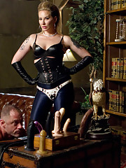 Slave is catapulted into an erotic world of strict sensual femdom executed with precision