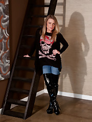 Knee Boots And Skulls