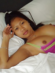 Sexy young Filipina from Southern Islands welcomes horny tourist