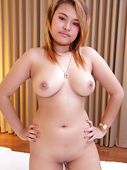 Big busty Thai beauty deals with foreign cock