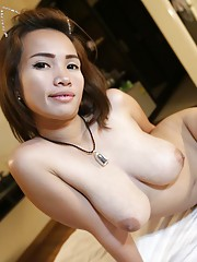 Stunning Thai with curves for miles shows off her delicious busty playground