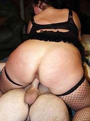 BBW gangbang with Rebecca Ryder