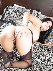 Ever dream to watch a hot Latina MILF tease you and masturbate for you? in this episode
