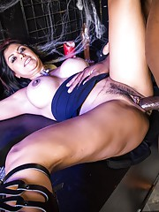 Gabby loves the cock going in and out of every and any of her holes. Before the fuck