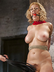 The Pope subjects Cherry to an evil array of torment and suffering while she is restrained