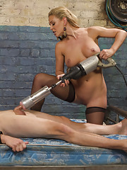 Cherie Deville pegs flogs canes and mind fucks D. Arclyte in this series debut.