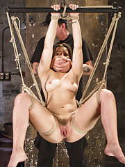 Perfect girl gets the perfect amount of bondage and torment.