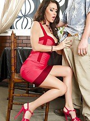 Jessica Jaymes is sexy and has the most amazing eyes. Look deep into her eyes and