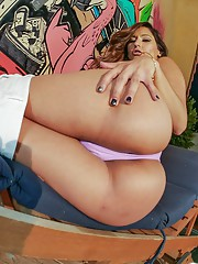 DOUBLE VAG BABY!!! This sweet lil cutie latina named Reena Sky!!! She has what it