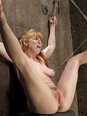 Penny Pax is Back and Hotter than ever in tight bondage and made to suffer then fucked