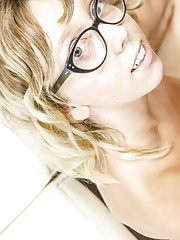 Teen with Glasses