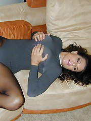 Teri Weigel takes a more subtle approach on you in this scene wearing a one piece