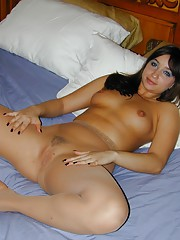 Your naughty girlfriend Louisa Lanewood just got back from the gym and shes still