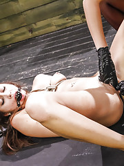 The sexy and horny Marina Angel has played in our studio and dungeon so many times