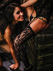 The cute and kinky Marina Angel loves lesbian domination and has proven to be quite