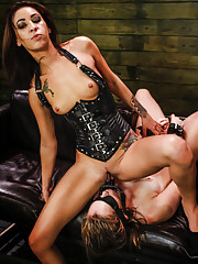 The hot and horny Charli Acacia has played in our dungeon a few times kink deepthroat