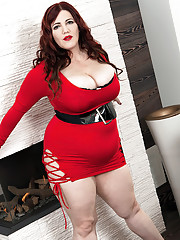 Foxy Roxee Is Well-red In Red