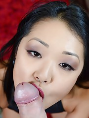Today we bring you one of the hottest asians pornstars in the biz Miss Saya Song.