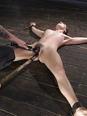 Kasey is destroyed in bondage with tormenting orgasms and pain.