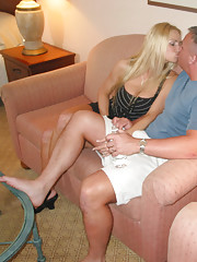 NaughtyAllie Gives Jake A Formal Introduction To Hot Wife Ri...