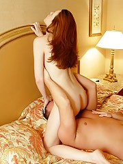 Real Swingers Bang A Hot Redheaded Chick